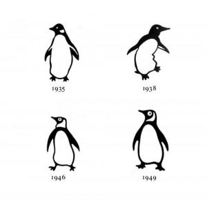 penguin logo evolution